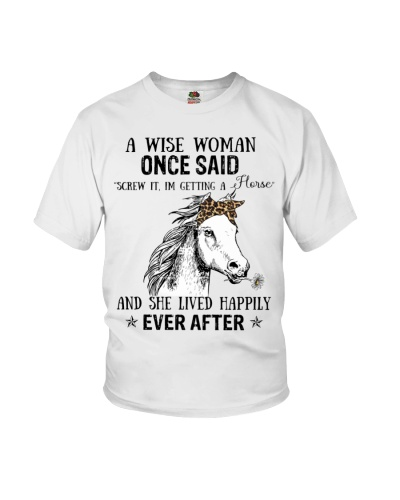 Horse A wise woman once said
