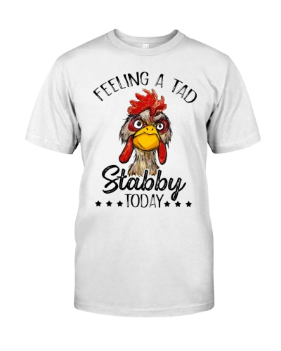 Chicken Feeling a tad stabby today