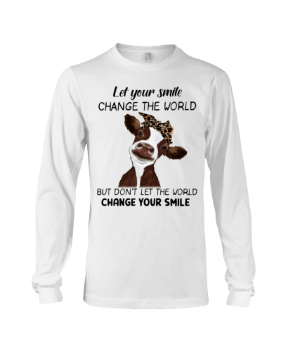 Cow Let Your Smile Change The World