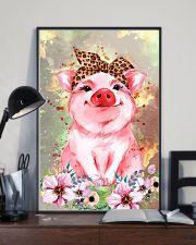 Pig Bandana Flower 16x24 Poster lifestyle-poster-2