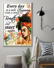 Afro Every Day Is A New Beginning 16x24 Poster lifestyle-poster-1