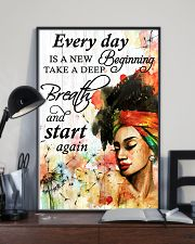 Afro Every Day Is A New Beginning 16x24 Poster lifestyle-poster-2