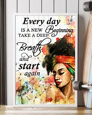 Afro Every Day Is A New Beginning 16x24 Poster lifestyle-poster-4