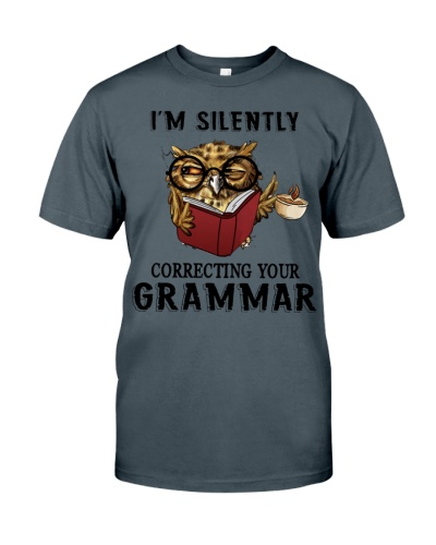 Owl Silently Correcting Your Grammar