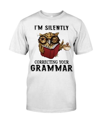 Owl Silently Correcting Your Grammar