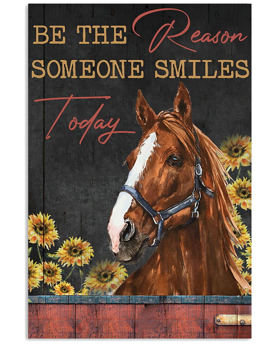 Horse The Reason Someone Smile 16x24 Poster