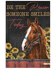 Horse The Reason Someone Smile 16x24 Poster front