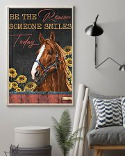 Horse The Reason Someone Smile 16x24 Poster lifestyle-poster-1