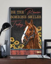 Horse The Reason Someone Smile 16x24 Poster lifestyle-poster-2