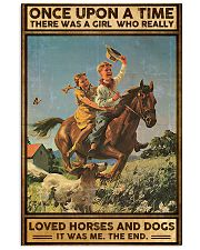 Horses and Dogs 16x24 Poster front