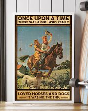 Horses and Dogs 16x24 Poster lifestyle-poster-4