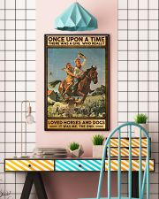Horses and Dogs 16x24 Poster lifestyle-poster-6