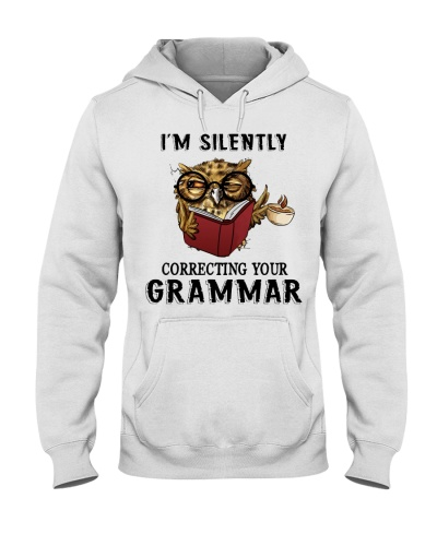 Owl I'm Silently Correcting Your Grammar