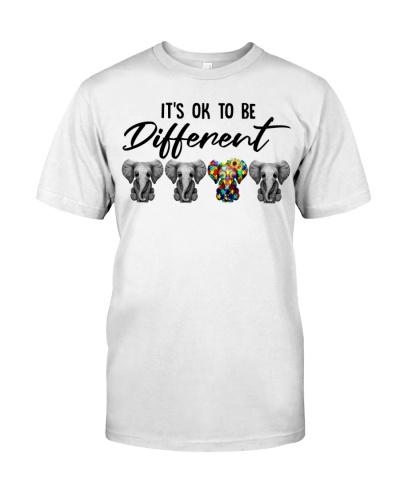 Hippie Elephant It's Ok To Be Diffirent