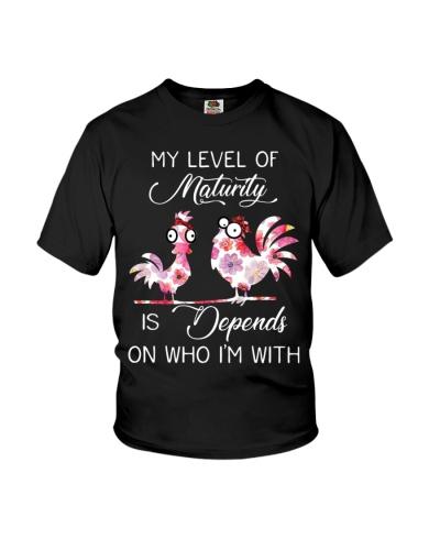 Chicken My Level Of Maturity