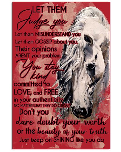 Horse Let Them Judge You