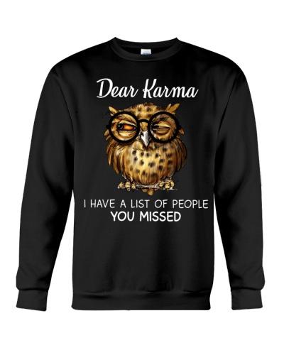 Owl Dear Karma