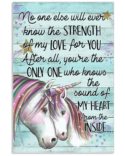 Unicorn No One Else Will Ever Know Strong