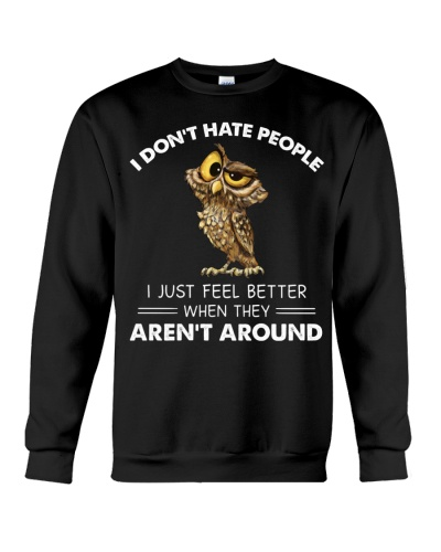 Owl I Don't Hate People