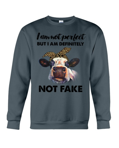 Cow I am not perfect but i'm not fake