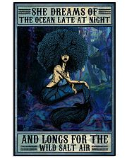 Afro She Dreams Of The Ocean 16x24 Poster front