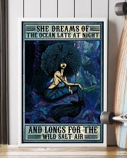 Afro She Dreams Of The Ocean 16x24 Poster lifestyle-poster-4
