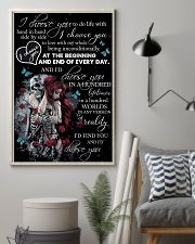 Skull I Choose You  16x24 Poster lifestyle-poster-1