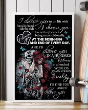 Skull I Choose You  16x24 Poster lifestyle-poster-4