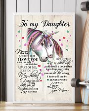 Unicorn To My Daughter Never Forget That 16x24 Poster lifestyle-poster-4
