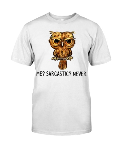 Owl Me Sarcastic Never