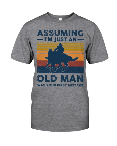 Horse Asuming I'm Just An Old Man