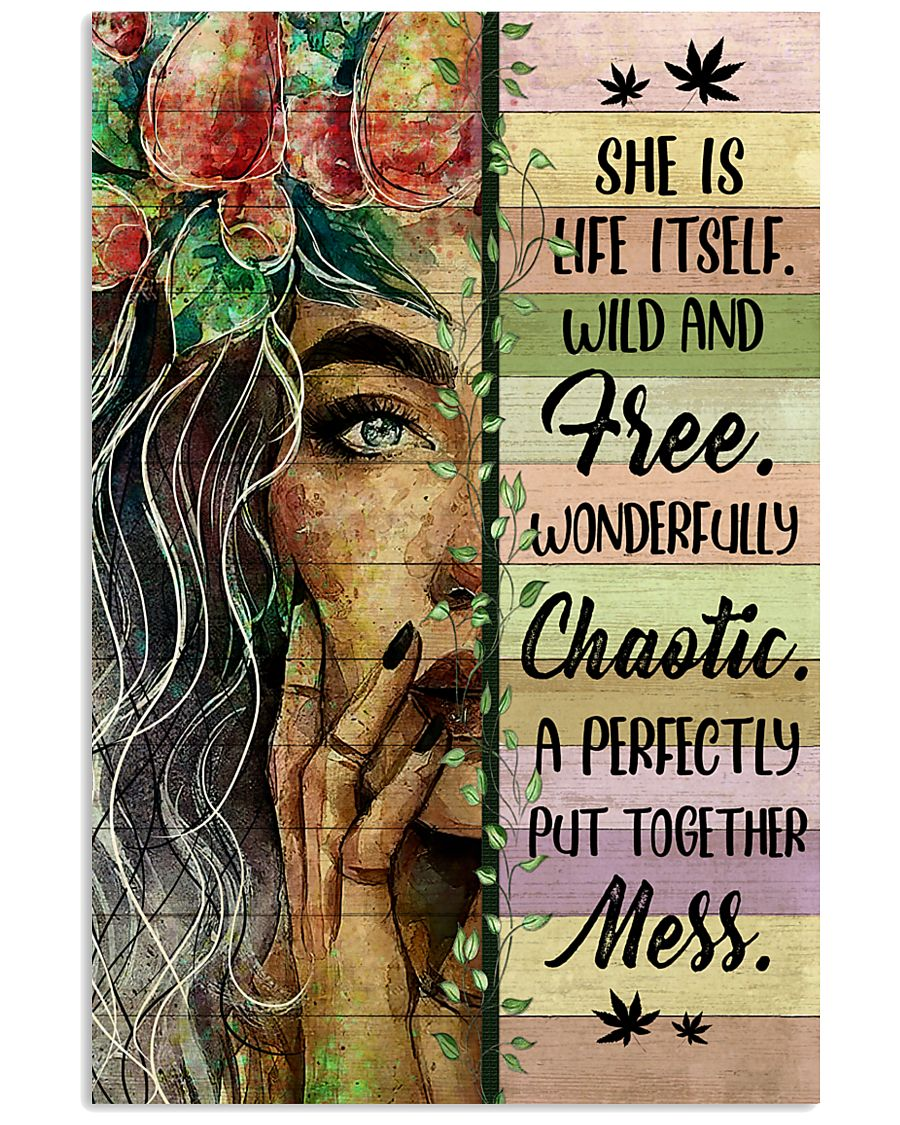 Hippie She Is Life Itself  16x24 Poster