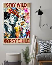 Hippie Stay Wild Gypsy Child 16x24 Poster lifestyle-poster-1