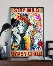 Hippie Stay Wild Gypsy Child 16x24 Poster lifestyle-poster-2
