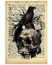Raven Skull 16x24 Poster front