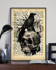 Raven Skull 16x24 Poster lifestyle-poster-2