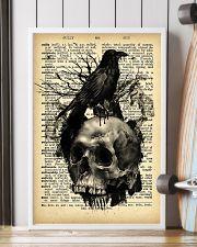 Raven Skull 16x24 Poster lifestyle-poster-4