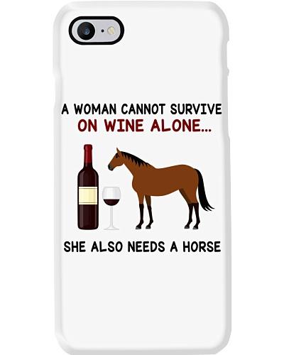 Horse Thoroughbred A Woman
