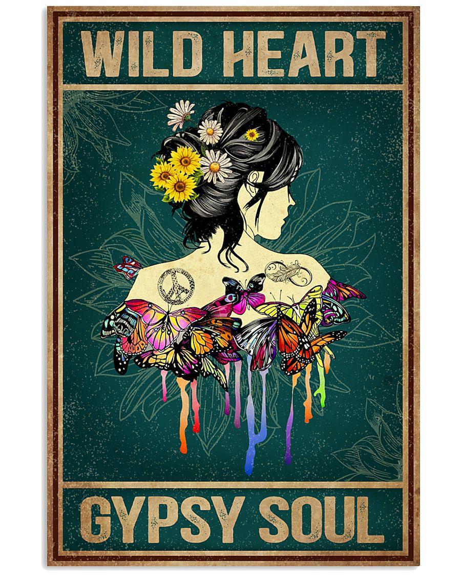 Hippie Wild Heart 16x24 Poster
