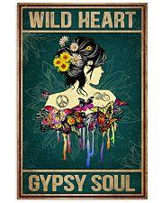 Hippie Wild Heart 16x24 Poster front