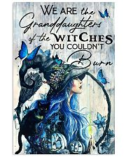 Cat Witch Granddaughters Of Witches 16x24 Poster front