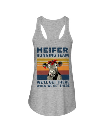Cow Heifer Running Team