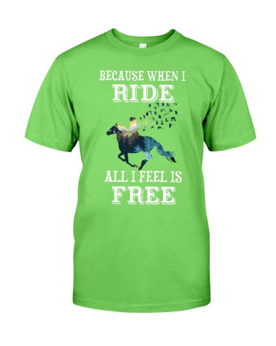 Horse Because When I Ride