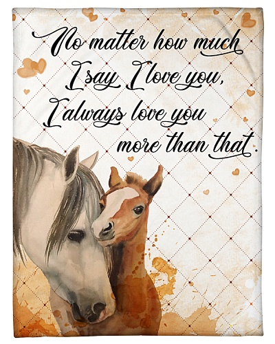Baby Horse No matter how much i say i love you