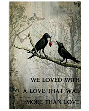 Raven We Love  16x24 Poster front