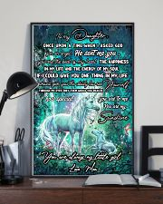 Unicorn To My Daughter Once Upon A Time Mother day 11x17 Poster lifestyle-poster-2