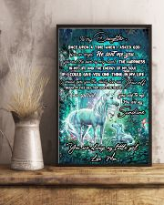 Unicorn To My Daughter Once Upon A Time Mother day 11x17 Poster lifestyle-poster-3