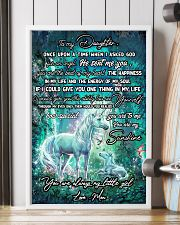 Unicorn To My Daughter Once Upon A Time Mother day 11x17 Poster lifestyle-poster-4