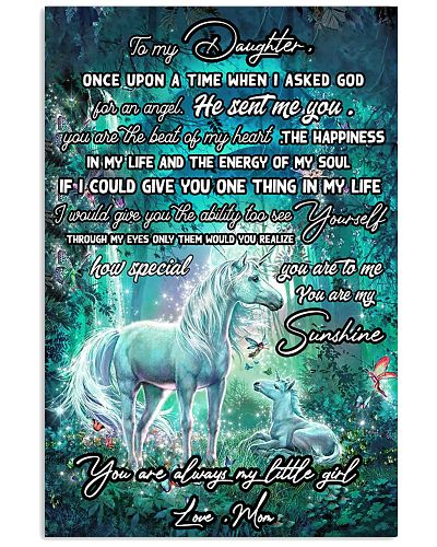 Unicorn To My Daughter Once Upon A Time Mother day
