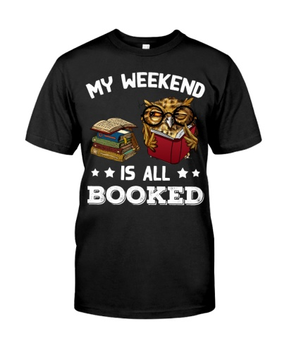 Owl My Weekend Is All Books